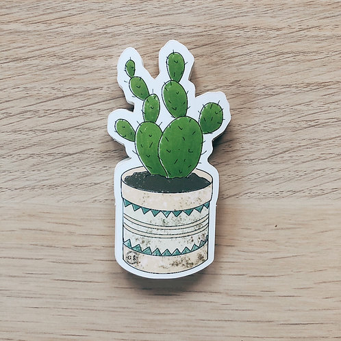 Pickly Pear Cactus Sticker