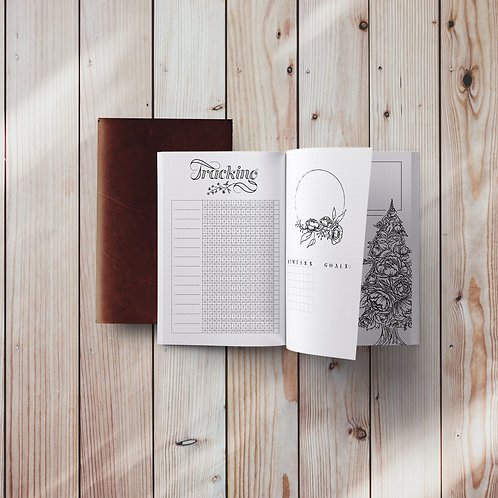 What A Day Planner: Fine & Floral Edition