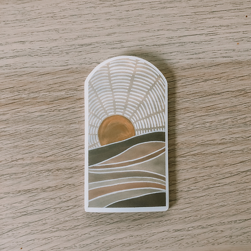 Painted Hills Sticker