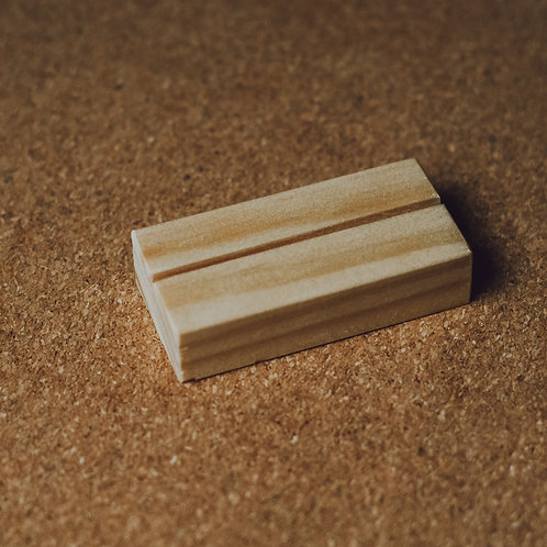 Wood Block Stand