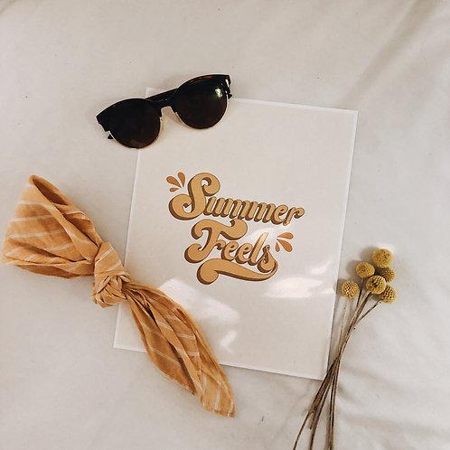 Summer Feels Print