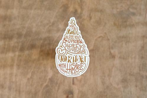 Amy Carmichael Quote Sticker