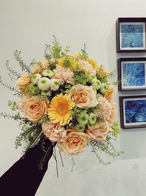 Bouquet jaune-orange