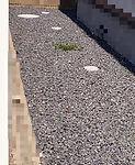 東京都杉並区砂利敷き完了後