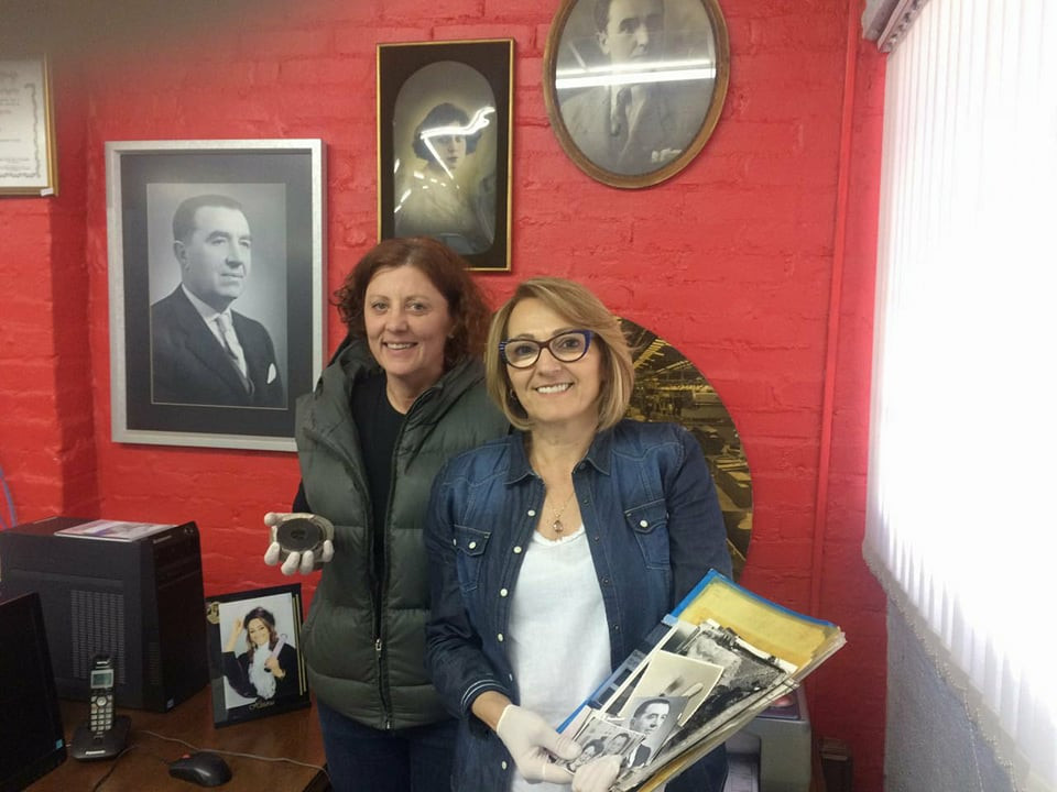 Flávia Gazola e Maria de Fátima Canevese