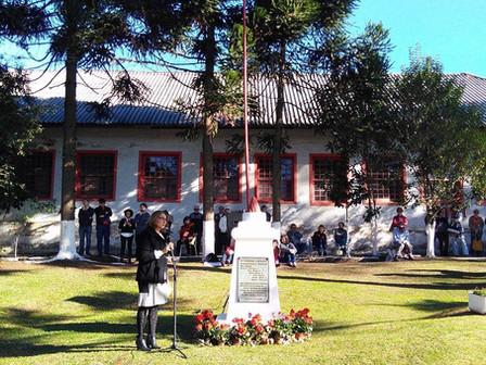 Comunidade recorda os 74 anos da explosão de 1943 no Memorial Gazola