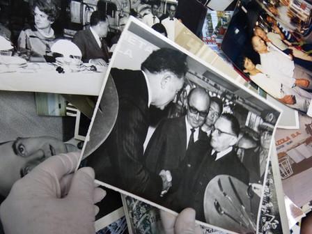 Memorial Gazola recebe doação de fotos antigas de Luiz Alberto Gazzola