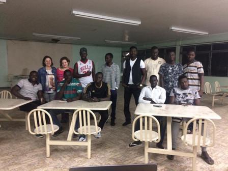 Imigrantes senegaleses concluem oficina de Língua Portuguesa no Memorial Gazola