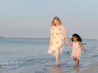 Mommy & me sunset session.