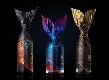Fish Club Wine Packaging Design by Backbone Branding