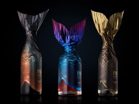 Fish Club Wine Packaging Design by Backbone Branding