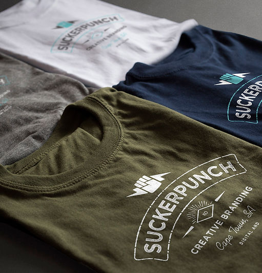 clothing design, branding, graphic design, branding, cape town, suckerpunch