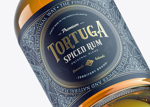rum, label design, packaging