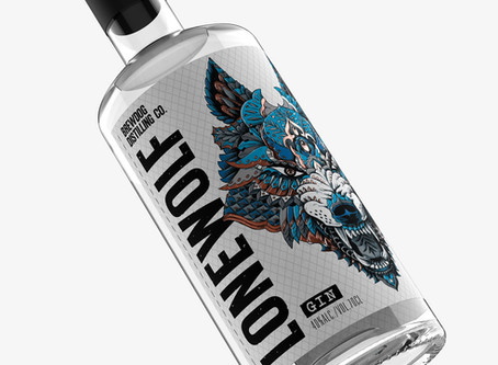 LOVE reveals  new packaging design for LoneWolf Gin