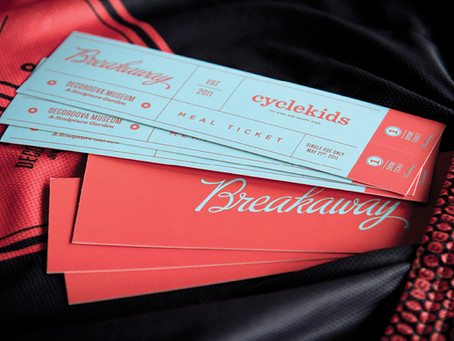 Cycle Kids Breakaway Event Branding by Bluerock Design