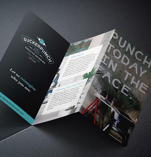 branding, leaflet design, stationery, graphic design, cape town, suckerpunch,