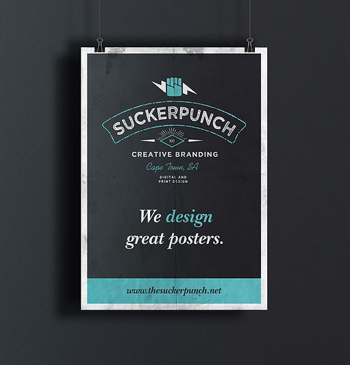logo design, poster design, stationery, graphic design, cape town, suckerpunch,