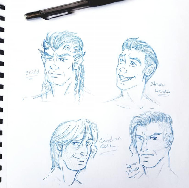 Minor Character Faces