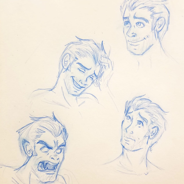 Harry Face Studies