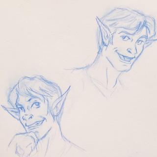 Galen Face Study