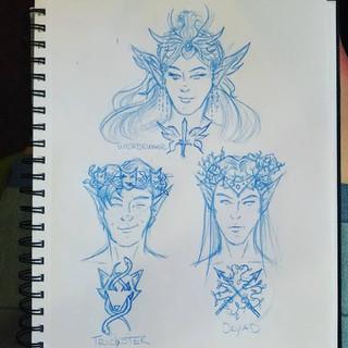 3 Fae Kingdoms