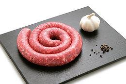 Saucisse italienne tradition fabrication artisanale,, Comptoir des Salaisons, Provence Charcuterie