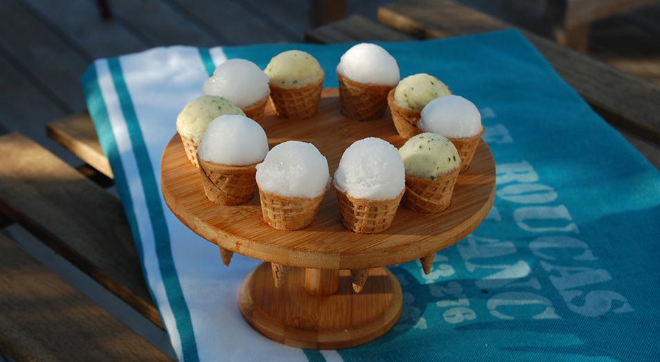 Boulettes glacées Cristal anis