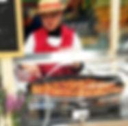 Animation point chaud de noix de joue de porc au figatelli, plats cuisines provencaux, fabriqués artisanalement, longuement mijotés, spécialité provencale, gastronomie provencale, Comptoir des Salaisons, Provence Charcuterie