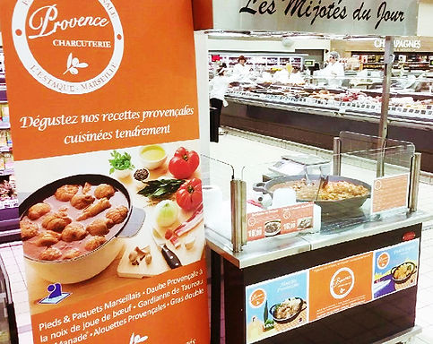 Animation Plats cuisinés - Comptoir des Salaisons Provence Charcuterie