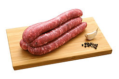 Saucisse italienne à griller tressé à la main, Comptoir des Salaisons, Provence Charcuterie