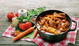 tripes à la provencale , fabriqués artisanalement, longuement mijotés, spécialité provencale, gastronomie provencale, Comptoir des Salaisons, Provence Charcuterie