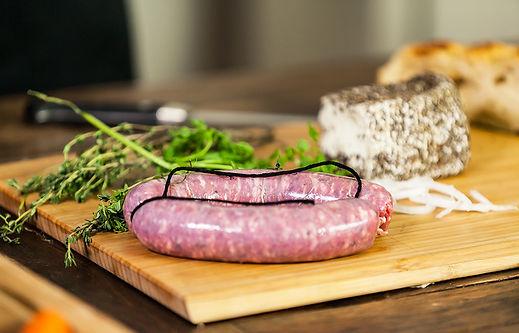 Saucisse fraiche tradition fabrication artisanale,, Comptoir des Salaisons, Provence Charcuterie