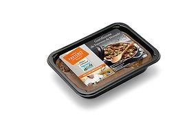 barquette 2 parts de gardianne de taureau de manade,, plats cuisines provencaux, fabriqués artisanalement, longuement mijotés, spécialité provencale, gastronomie provencale, Comptoir des Salaisons, Provence Charcuterie