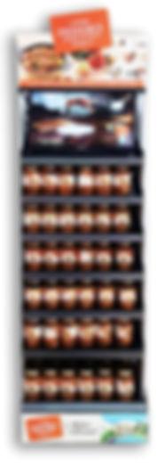 Display de bocaux de plats cuisines provencaux, fabriqués artisanalement, longuement mijotés, spécialité provencale, gastronomie provencale, Comptoir des Salaisons, Provence Charcuterie
