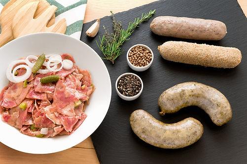 andouillette, andouillette provencale, Provence, Charcuterie, Comptoir des Salaisons, fabrication artisanale