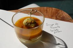 soupe de favouille boulette poisson