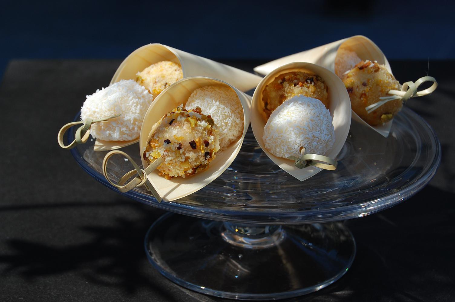 Boulettes navette et coco citron