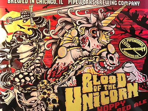 Blood of the Unicorn Metal Print