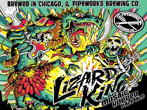 Lizard King Poster