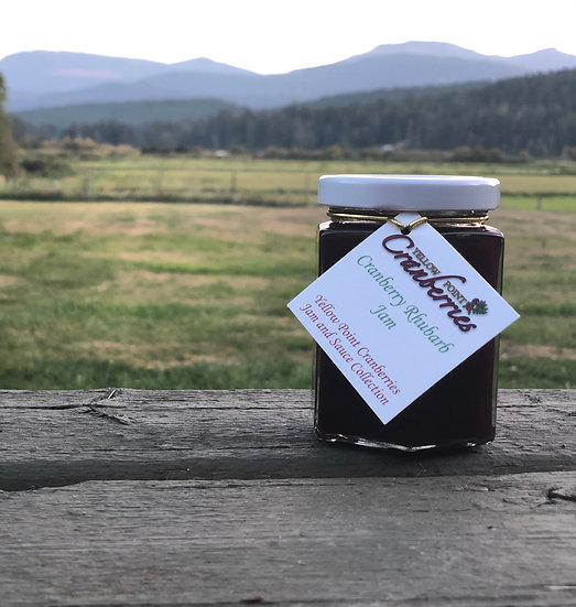 Cranberry Rhubarb Jam