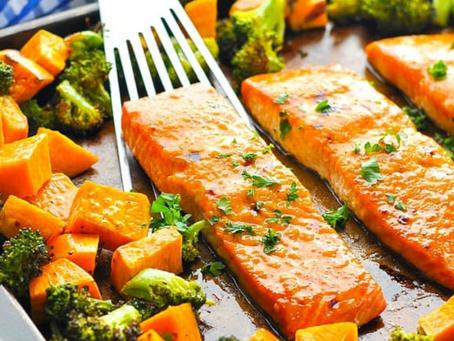 Salmon & Sweet Potato Recipe
