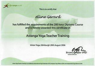 Astanga Yoga Teacher Training 2006