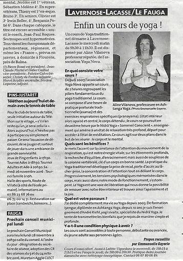 Article La Dépêche Nov.2016.jpg