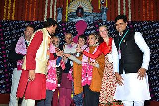 "UJJAIN, Inde 2014 ""Interntional Yoga Festival"""