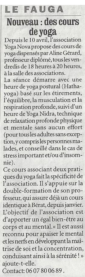 Article LA DEPECHE 2009.jpg