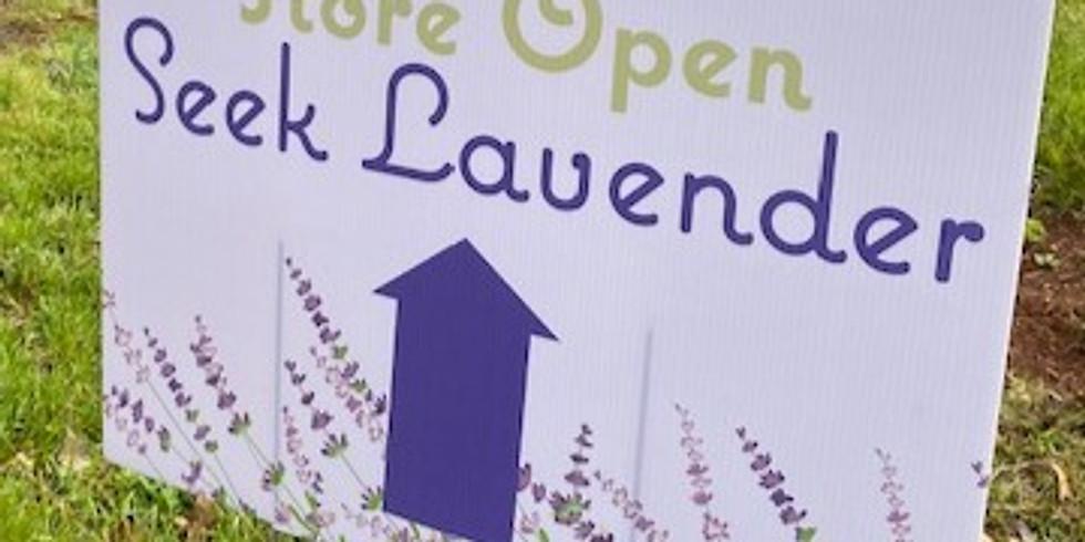 Seek Lavender Farm Store