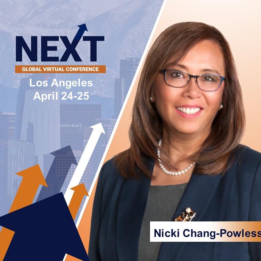 NEXT Global Virtual Conference™ with Nicki Chang-Powless