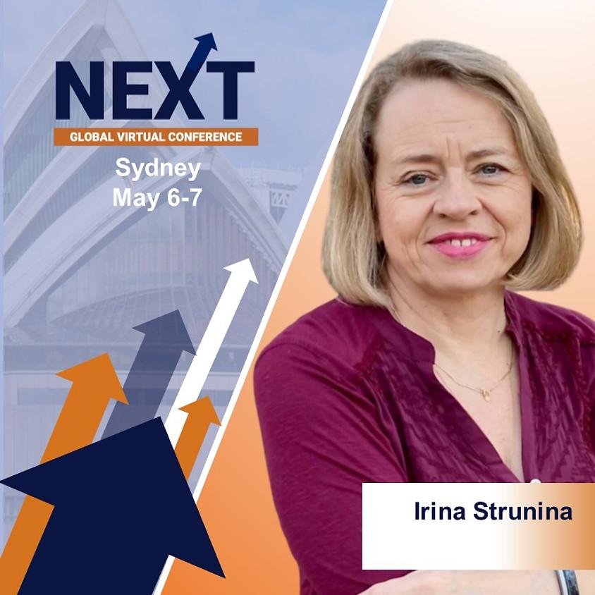 NEXT Global Virtual Conference™  with Irina Strunina