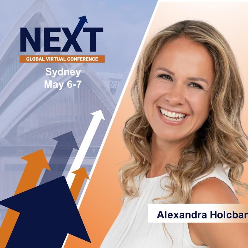 NEXT Global Virtual Conference™   with  Alexandra Holcbarova