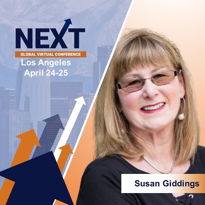 NEXT Global Virtual Conference™  with Susan Giddings